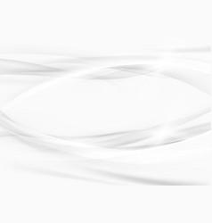 grey graphic beautiful elegant swoosh lines vector image