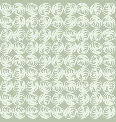 Hand drawn elegant rose bloom seamless pattern vector