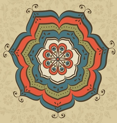 Oriental ornate vector