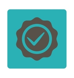 Valid icon from Award Buttons OverColor Set vector