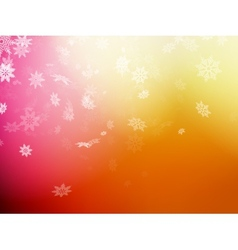 Christmas template on orange background EPS 10 vector image vector image