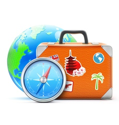 travel concept vector image vector image