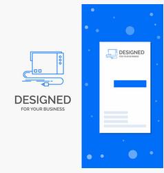 Business logo for audio card external interface vector