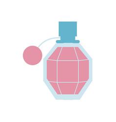 female fragrance aroma icon on white background vector image