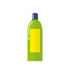 plastic bottle and cosmetics vector image