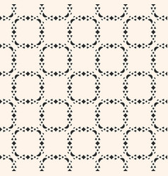 seamless geometric pattern delicate grid ornament vector image