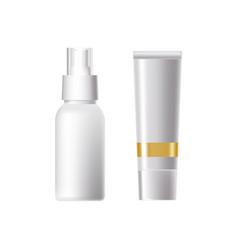 Spray for freshness application to the body tube vector