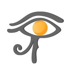 Eye of Horus icon cartoon style vector image vector image
