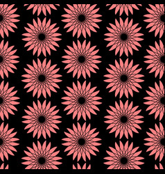 bright floral seamless pattern modern vector image vector image