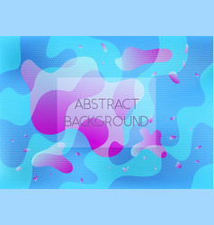 abstract blue and pink vibrant background vector image
