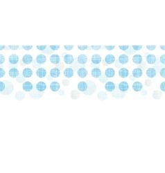 Abstract textile blue polka dots stripes vector