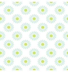 Daisy chamomile seamless pattern vector image vector image