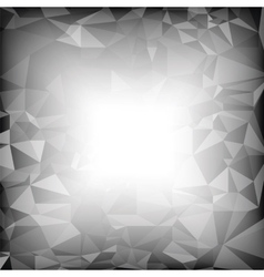 Grey Polygonal Background vector image
