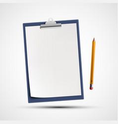icon clipboard vector image