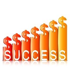 Money Success Concept vector