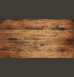 Old aged brown wooden planks background texture vector