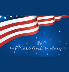 president day poster vector image