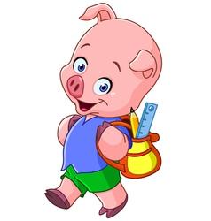 School pig vector