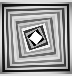 Simple grayscale square background pattern art vector