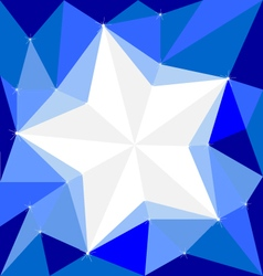 Star on Background White Cool wallpapers vector image