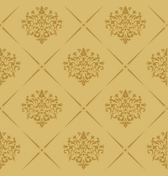 Vintage royal wallpaper seamless vector
