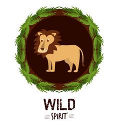 Wild spirit animals vector