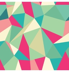 Seamless Polygonal Pattern Background vector image