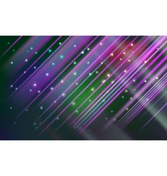 Abstract star frame lights background vector