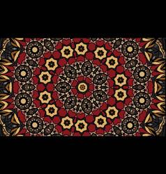 antique geometric background vector image