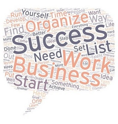 Business Aimed to Success To Do List text vector