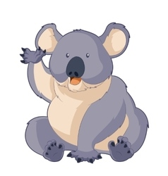 Cartoon smiling Koala vector image