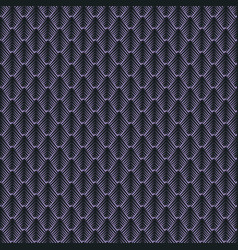 geometric mosaic pattern from violet triangle vector image