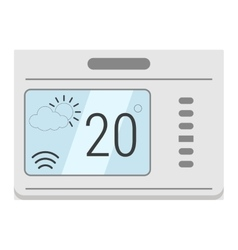 Microwave oven technology appliance equipmen vector image