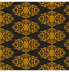 Pattern on a black background vector image