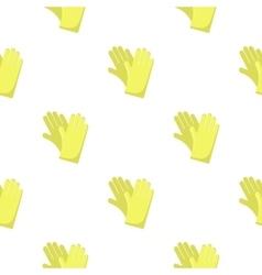 Rubber gloves cartoon icon for web vector