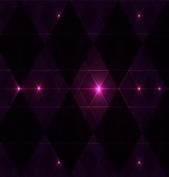 Violet wink vintage pattern background vector