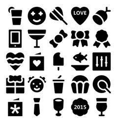 Celebration and party icons 5 vector