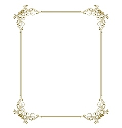 decorative frame - vector image vector image
