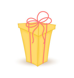 colorful wrapped gift boxbeautiful christmas and vector image