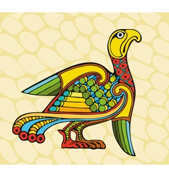 Motley Bird vector image