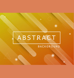 abstract geometric background with dynamic shapes vector image