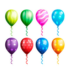 balloon collections vector image