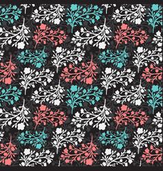 floral vintage seamless pattern for vector image