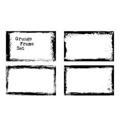 Grunge frame templates vector