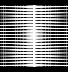 Halftone gradation abstract monochrome repeatable vector