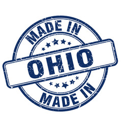 Made in ohio vector