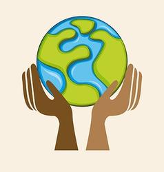 multiethnic community vector image