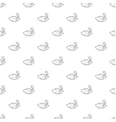 pirate hat pattern seamless vector image