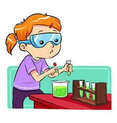Science Learning vector image