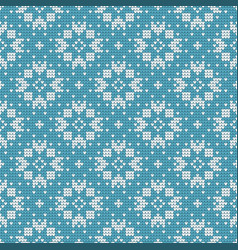 traditional scandinavian pattern nordic ethnic vector image